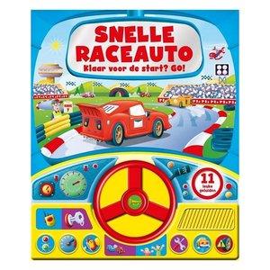 Geluidenboek Snelle Raceauto